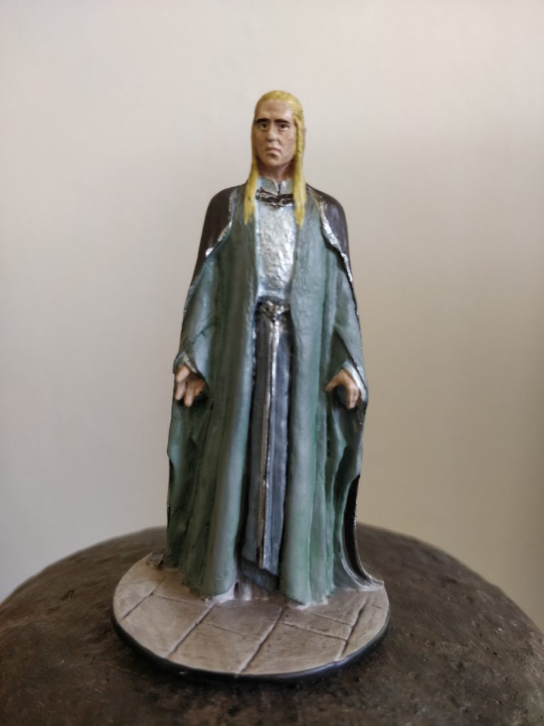 Celeborn at the Gray Havens