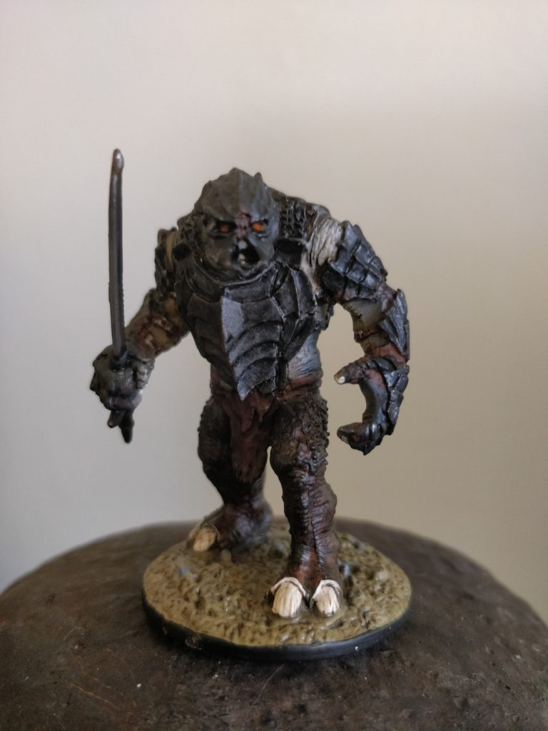 Armoured Troll at the Black Gate of Mordor