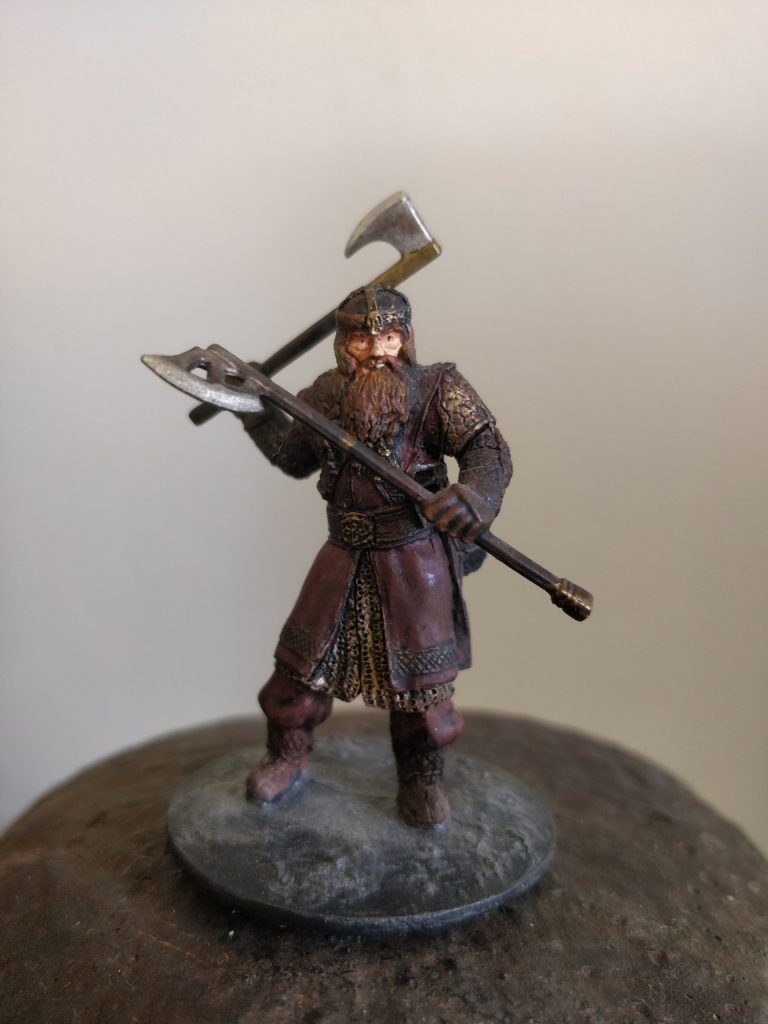 Gimli at Balin's Tomb