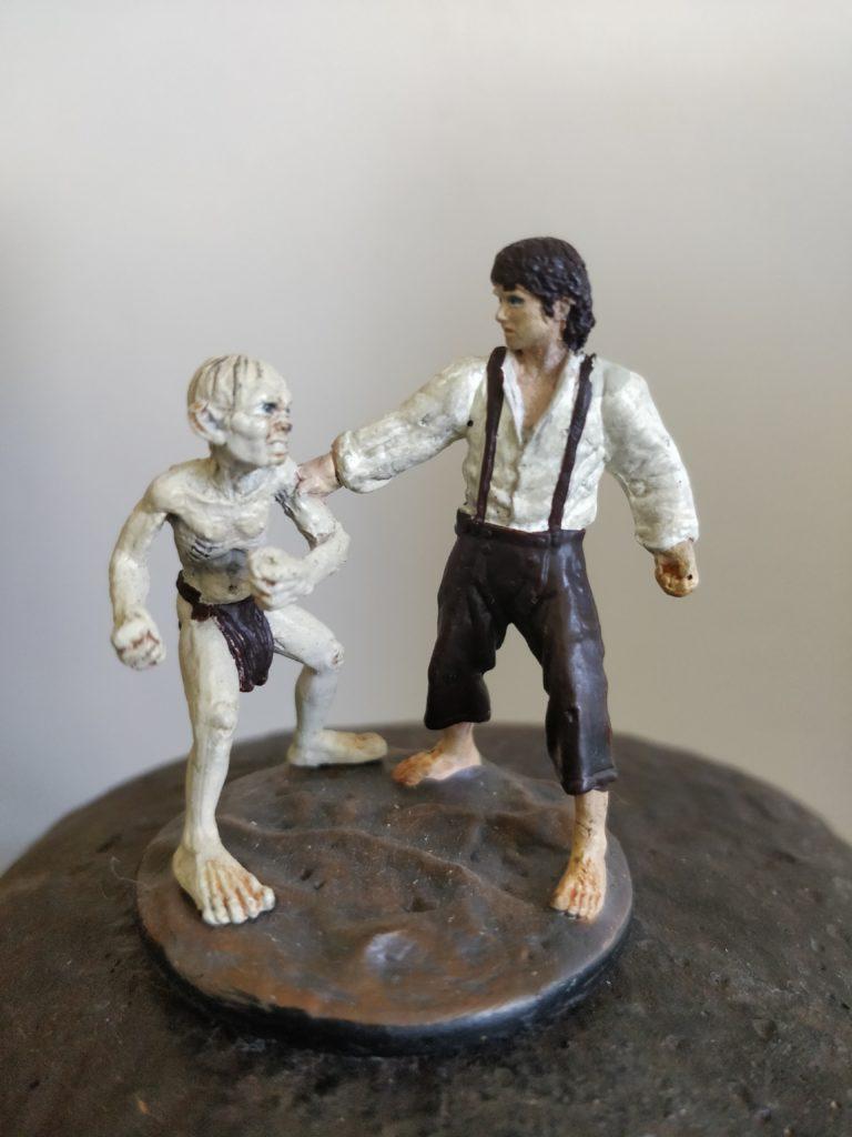 Frodo & Gollum at Mount Doom